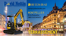 Terrassement Montpellier David Nottin